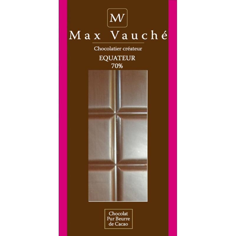 Tablette Equateur 70% cacao - 95g