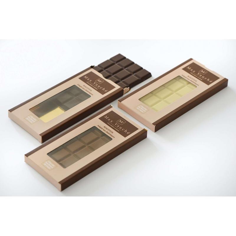 Tablette de chocolat avec édulcorant - Noir
