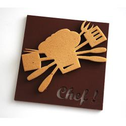 Plaque Chef Noir - 100g