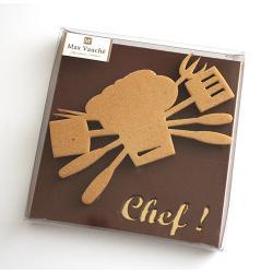 Plaque Chef Lait - 100g