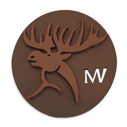 Médaille Élan Noir - 60g