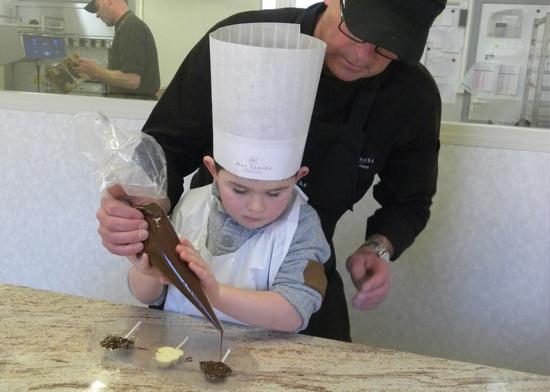 Atelier Enfant Chocolaterie Max Vauche