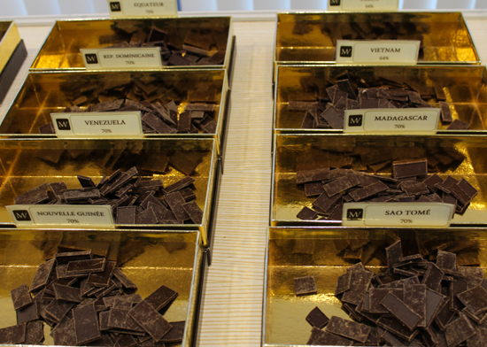 Dégustation Chocolat