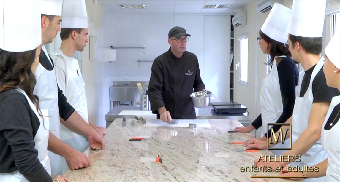 Reprise de nos Ateliers! Max Vauché Artisan Chocolatier